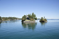 1000 Islands. Mil islas Stock Photo