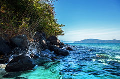 Islands in Southeast Asia. Royalty Free Stock Images