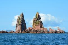 Islands of Verkhovsky in Amur Bay in Primorsky region, Russia Royalty Free Stock Photo