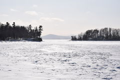 Islands Winter Stock Photos