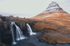 Islandzka góra Zdjęcie Stock