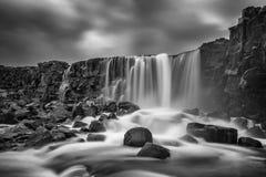 Islandzka siklawa Zdjęcia Royalty Free