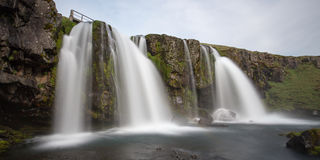 Islandzka siklawa Fotografia Stock