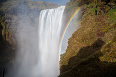 Islandzka siklawy magia Fotografia Stock