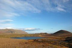 Islandzka wieś Fotografia Royalty Free