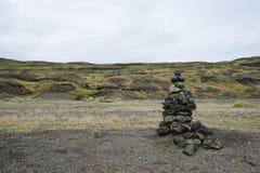 Islandzki krajobraz Obrazy Stock