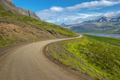 Islandzki krajobraz Snaefellsnes półwysep Zdjęcie Royalty Free