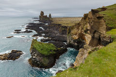Islandzki landschap w lecie Fotografia Royalty Free
