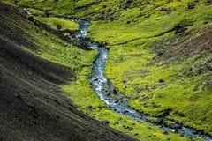 Islandzki strumień Obrazy Royalty Free