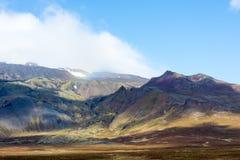 Islandzkie kolorowe góry Fotografia Royalty Free