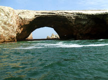 Islas Ballestas, Peru. The Islas Ballestas, protected area in Peru Stock Photos