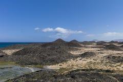Islas Canarias de los prados de la sal imagenes de archivo