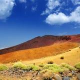 Islas Canarias en el parque nacional de Tenerife Teide Imagen de archivo