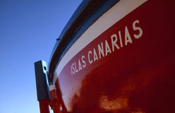 Islas Canarias Fishing boat Royalty Free Stock Photo