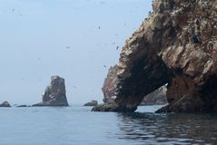 Islas de Ballestas Foto de archivo libre de regalías