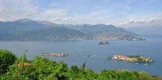 Islas de Borromean, Isola Bella, lago Maggiore Imagenes de archivo