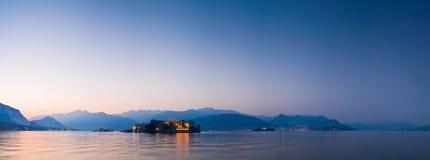 Islas de Borromean, Italia Imagen de archivo