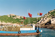 Islas de Dongji imágenes de archivo libres de regalías