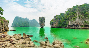 Islas de Koh Tapu Imagen de archivo