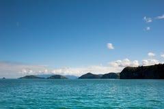 Islas de la península de Coromandel Foto de archivo libre de regalías