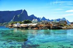 Islas de Lofoten, Noruega Fotos de archivo libres de regalías