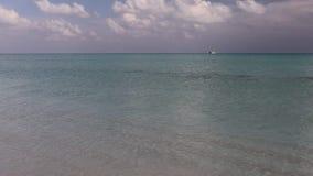 Islas de los mares tropicales almacen de metraje de vídeo