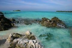 Islas de Maldives foto de archivo
