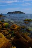 Islas de Medes, Costa Brava, España Imagenes de archivo