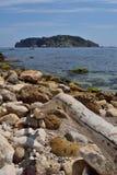 Islas de Medes, Costa Brava, España Imagen de archivo libre de regalías