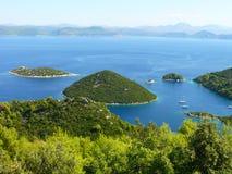 Islas de Mljet Fotografía de archivo libre de regalías