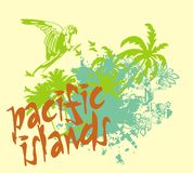 Islas de Pasific Fotos de archivo libres de regalías
