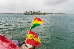 Islas de San Blas en Panamá fotografía de archivo libre de regalías