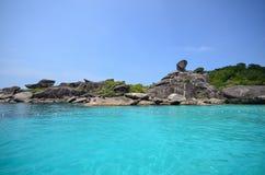 Islas de Similan Fotografía de archivo libre de regalías