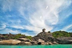 Islas de Similan, mar de Andaman, Tailandia Imagen de archivo