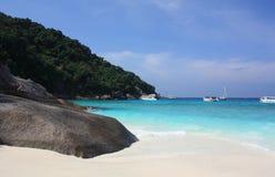 Islas de Similan, Tailandia, Phuket Fotos de archivo libres de regalías