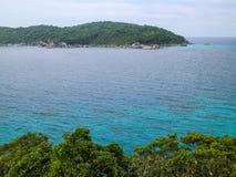 Islas de Tailandia Phuket Similan Imagen de archivo
