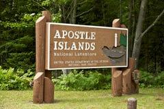 Islas del apóstol imagen de archivo