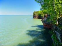 Islas del apóstol - Wisconsin Imágenes de archivo libres de regalías