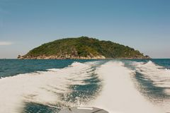 Islas del golfo de Tailandia foto de archivo libre de regalías