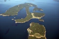 Islas del golfo, los E.E.U.U. Imágenes de archivo libres de regalías