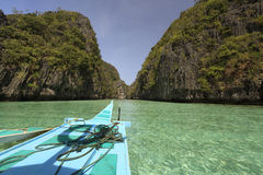 Islas EL-Nido Fotos de archivo libres de regalías