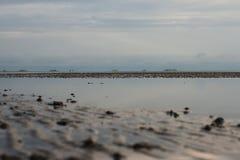 Islas en el horizonte Foto de archivo