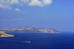 islas en el mar Mediterráneo Imagenes de archivo