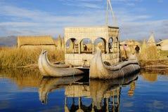 Islas flotantes Foto de archivo libre de regalías