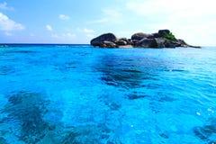 Islas hermosas Fotografía de archivo libre de regalías