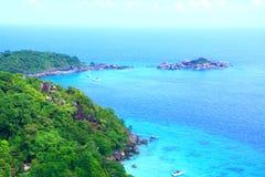 Islas hermosas Imagen de archivo libre de regalías