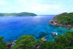 Islas hermosas Imagenes de archivo