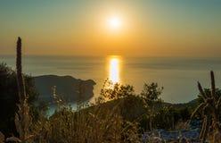 Islas jónicas de Kefalonia Imagen de archivo libre de regalías