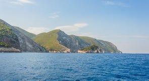 Islas jónicas de Zakynthos Fotografía de archivo
