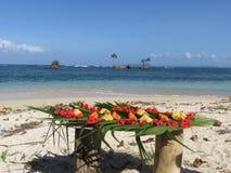 Islas Panamá de Zapatillo foto de archivo